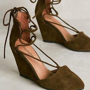Anthropologie Jeffrey Campbell Ouverte Wedges